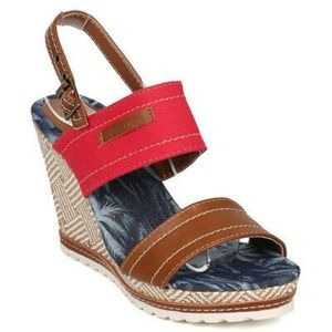 New Women's Open Toe Wedge Platform Sandals